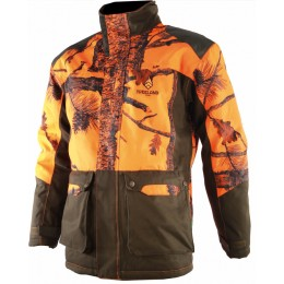 T613 - Camouflage orange warm jacket