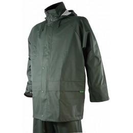 T424 - Veste de pluie verte